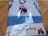Three sleeping bags