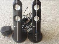 Speakers - Slim design for computers, laptops etc