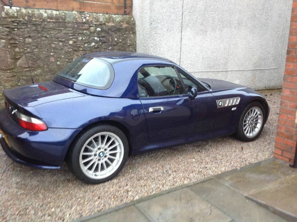 bmw z3 2 8 wide body with hard top sold sold sold in arbroath angus gumtree. Black Bedroom Furniture Sets. Home Design Ideas