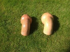 Clay Drainage Elbow Fittings Matching Pair £2.00