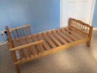 Saplings junior/toddler pine bed