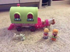 Happyland caravan, in excellent condition