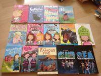 Fourteen Girls' Books (Toys, Lego, Minion, Peppa Pig, Barbie, Disney)