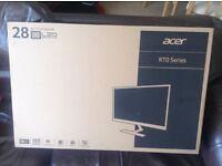 BRAND NEW Acer RT280K 28 inch 4K monitor
