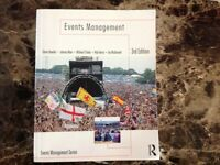 Events Managment 3rd Edition University Study Book