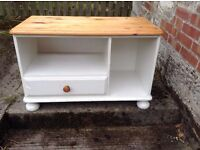 Pine painted TV stand made by Ducal