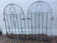 Outside gates metal