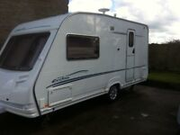 2005 Sterling topaz eccles caravan 2 berth end bathroom very good condition Richhill Armagh