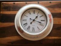 Very large shabby chic clock