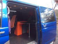 Converted Camper Windowed Van