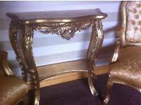 Rococo Style Consol Table