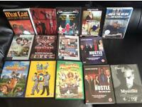 Assorted DVDs £1 each