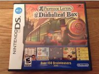 Professor Layton & the Diabolical Box Nintendo DS Game