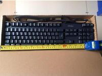 USB Keyboard, DELL, never deployed still boxed
