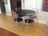 4 table and 4 chairs brand new selling seperately oras a pair bought forYoga Studio but are unsuited