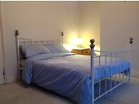 Spacious double bedroom in professional house share