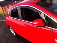 Vauxhall Astra J Mk6 Heko Wind & Rain Deflectors Smoked Finished Internal Fitting inc Clips New