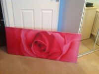 Large canvas picture.
