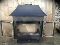 Clearview woodburner, either 750 or 650