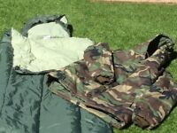 Never used thermal camouflage jacket size L & full size thermal selling 2 of each