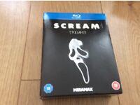 Blu-ray Scream trilogy