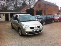 Renault Scinic 1.6 AUTOMATIC, FULL SERVICE HISTORY, FULL MOT, STUNNING EXAMPLE