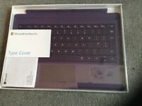Microsoft surface pro..type cover