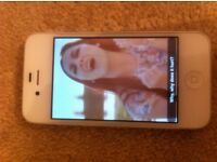 Iphone 4 16gbs White Like New