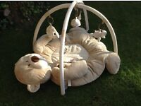 Mothercare teddy playmat and arch, excellent condition