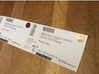 Status Quo x2 tickets Inverness 20th June 17 face value ono