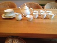 Bone China Tea Set for 6 People