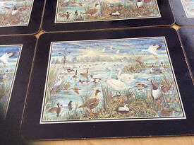 Pretty bird themed tablemats (boxed)