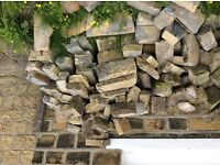 Yorkshire stone about 4 square meters £50 in total
