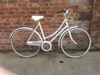 Raleigh caprice ladies vintage stepthrew upright town bike