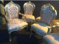 Fabulous gold French style chair