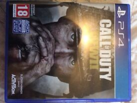 PS4 call of duty ww11