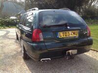 MG Z-T CDTi automatic BRG full leather interior MOT September £1650