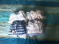 New born baby boy clothes bundle (everything you need in one bundle)