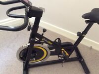 Spinning bike in great condition. It`s been only used a few times and is in a super condition.