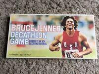 Vintage Bruce Jenner Decathlon Game 1979