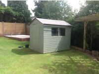 8 x 6 T&G Garden Shed.