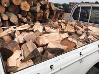Christmas speacial offer barned stored seasoned logs 🎄☃️🔥