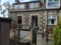End Terrace house. Quiet location in Huntly