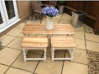 Lovely High Quality Ercol set of Coffee Tables