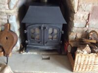 Woodburner - Yeomans 7kw with rear flue.