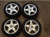 Mini Cooper Alloy Wheels Run Flat Tyres