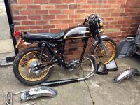 Honda CB500T Easy project.