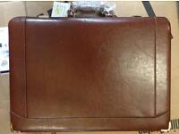 Genuine Italian leather briefcase rrp £79.99