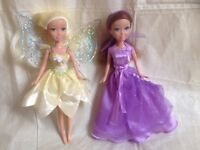Teen dolls - Sparkle Girlz Butterfly Fairy and Princess dolls