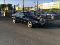Mercedes C220 diesel automatic avantgarde 2007 one owner 58000 fsh full year mot ful leather
